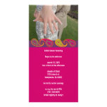 Bridal Shower Paisley Photo Greeting Card