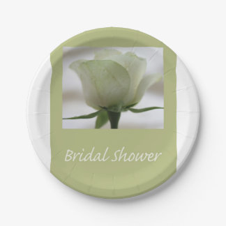 Bridal Shower Paper Plate