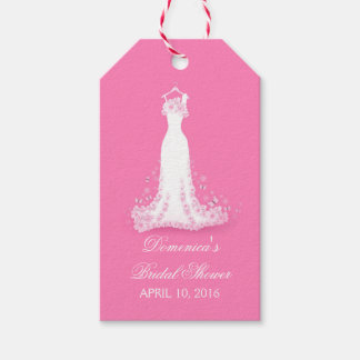Bridal Shower Pink - Fuschia Wedding Gown
