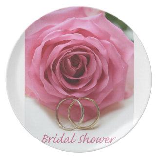 Bridal Shower Plate