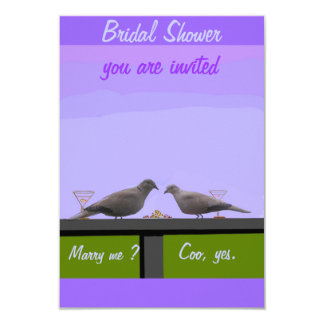 Bridal Shower RSVP cards 9 Cm X 13 Cm Invitation Card
