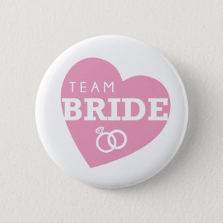Bridal Shower Team Bride Bachelorette Bride Squad 6 Cm Round Badge