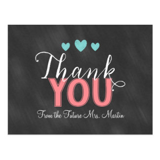 Bridal Shower Thank You Card