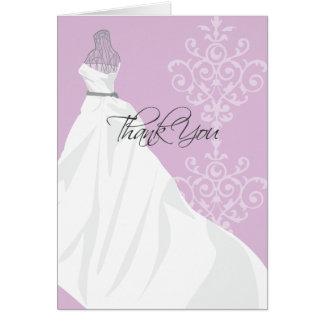 Bridal Shower Thank You Card  |  Purple