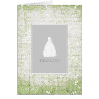 Bridal Shower Thank You Cards {Light Green}