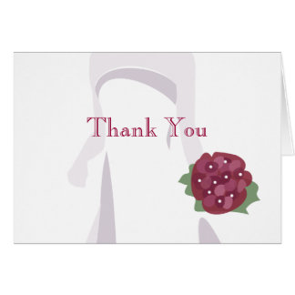 Bridal Shower Thank You Note Cards