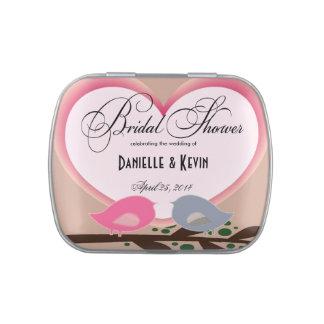 Bridal Shower  Wedding Favor Candy Tin