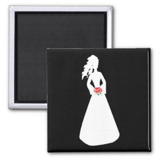 Bridal Silhouette II Magnets