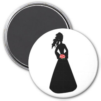 Bridal Silhouette III Magnets
