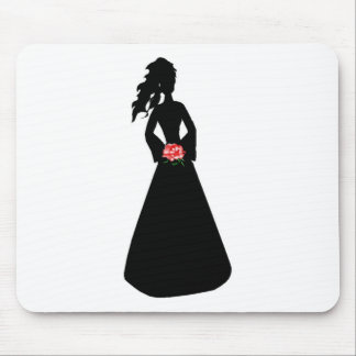 Bridal Silhouette III Mouse Mat