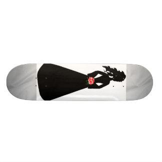Bridal Silhouette III Skateboard - Customizable Skate Board Deck