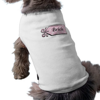 Bridal Sleeveless Dog Shirt