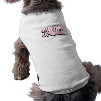 Bridal Sleeveless Dog Shirt
