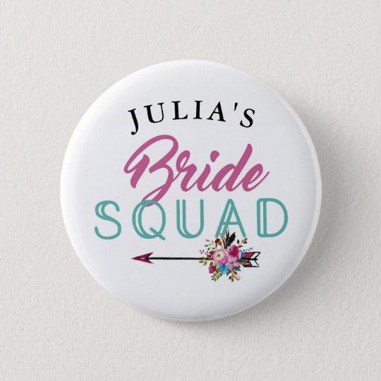 Bridal Squad Bride Badges Bachelorette Tribe Pins