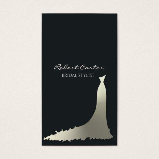 Bridal Stylist Fashion House Dress Salon Business Card