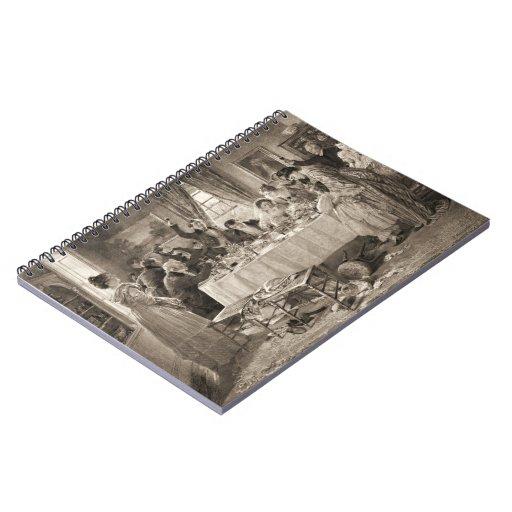 Bridal Toast 1903 Notebook