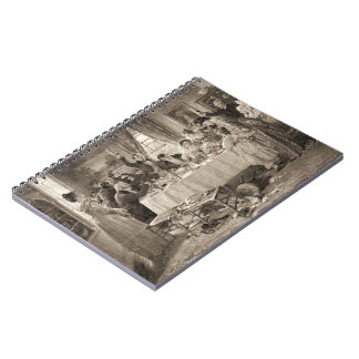Bridal Toast 1903 Spiral Note Book