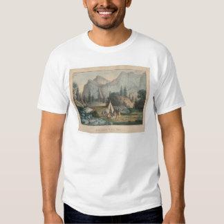 Bridal Veil Fall, Yosemite (1303) T Shirts