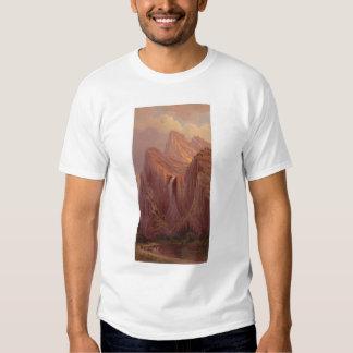 Bridal Veil Fall, Yosemite Valley (0128A) Tee Shirt