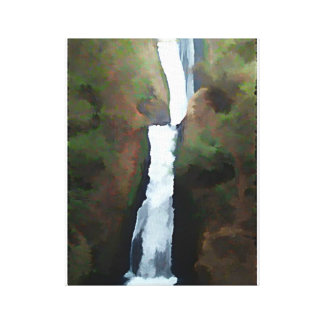 Bridal Veil Falls Canvas Print