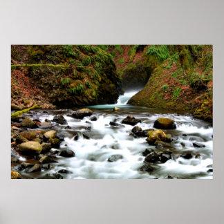 Bridal Veil Falls Creek I Print