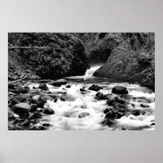 Bridal Veil Falls Creek II Print