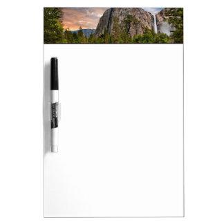 Bridal Veil Falls Dry-Erase Whiteboards