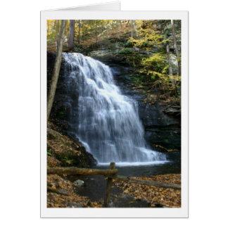 Bridal Veil Falls Greeting Card