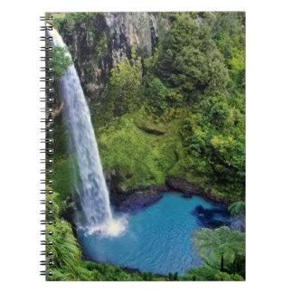 Bridal Veil Falls, NZ Note Book