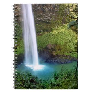Bridal Veil Falls NZ Spiral Note Book
