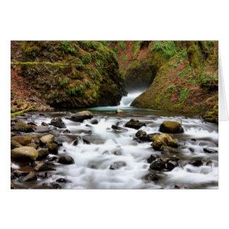 Bridal Veil Falls Oregon Card