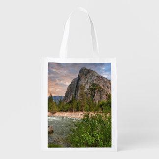 Bridal Veil Falls Reusable Grocery Bag