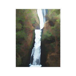 Bridal Veil Falls Stretched Canvas Prints