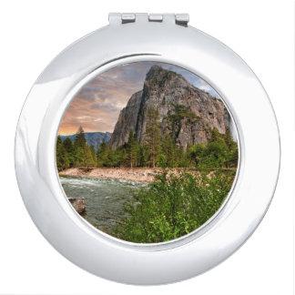 Bridal Veil Falls Travel Mirror