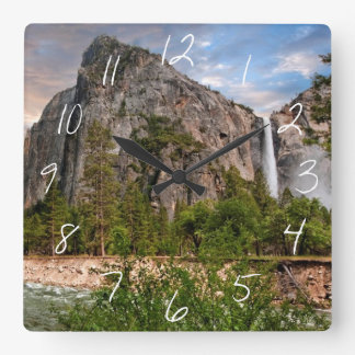Bridal Veil Falls Wallclocks