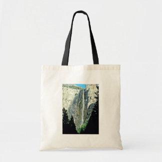 Bridal Veil Falls - Yosemite National Park Budget Tote Bag