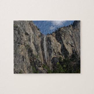 Bridal Veil Falls, Yosemite National Park Jigsaw Puzzle