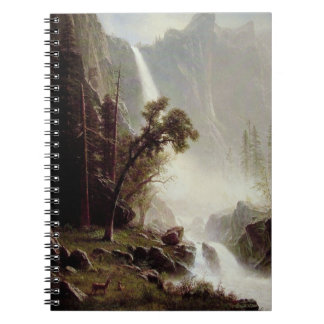 Bridal Veil Falls Yosemite Notebook