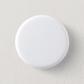 Bridal White 3 Cm Round Badge