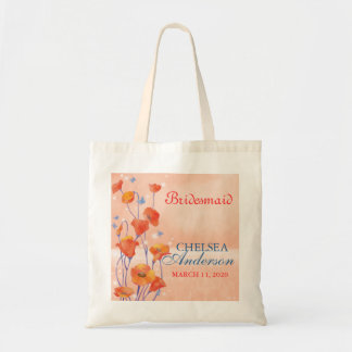 BridalHeaven Poppy Wedding Bridesmaid Gift Bags