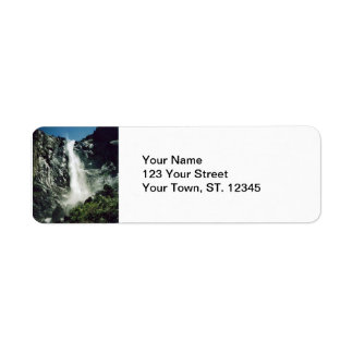 Bridalveil Falls- Yosemite Return Address Label