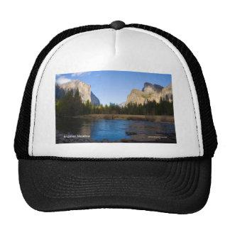 Bridalveil Meadow April Yosemite Products Mesh Hat