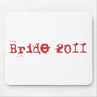 Bride 2011 mouse pad