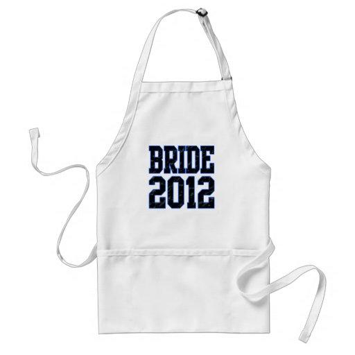 Bride 2012 apron