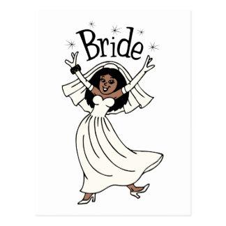Bride (African-American) Postcard