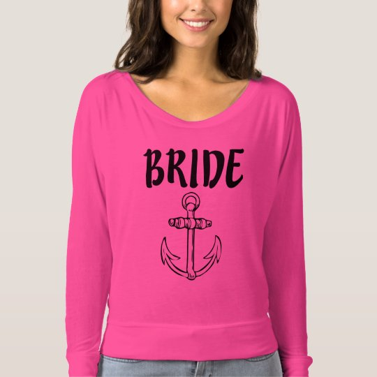 Bride Anchor women's shirt