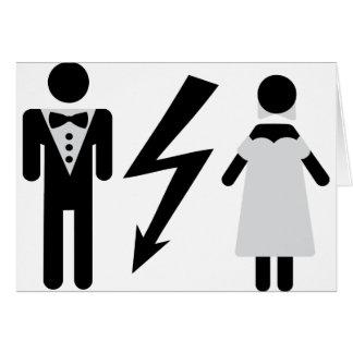 bride and bridegroom icon cards