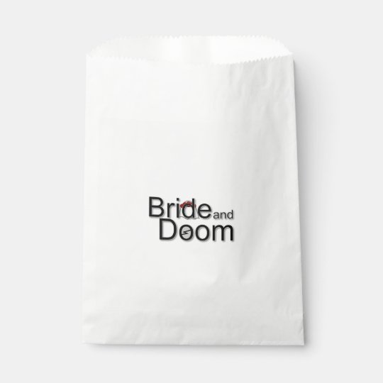 Bride and Doom gift bags