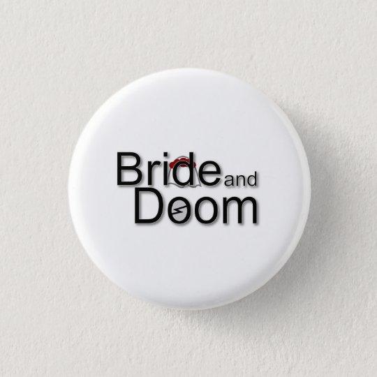 Bride and Doom logo badge