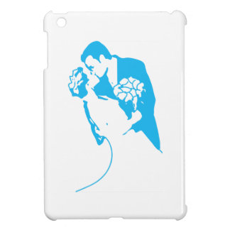 Bride and Groom 01 Light Blue Case For The iPad Mini